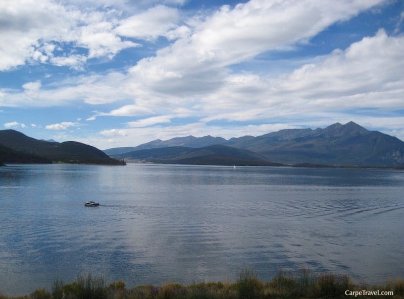 Yes, there are beaches in Colorado! Dillion Reservoir in Frisco is one of the top Colorado Beaches to visit this summer.