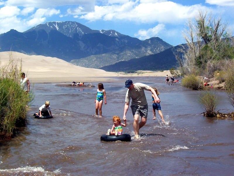Top Beaches in Colorado to Visit: Medano Creek