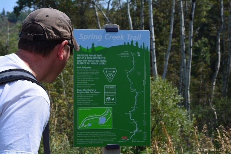 Top Steamboat Springs Hiking Trails to do with Kids: Spring Creek Trail