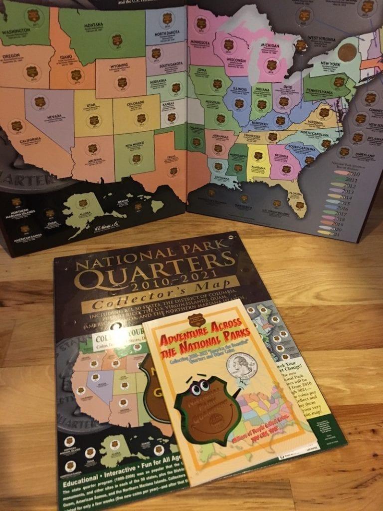 America the Beatiful Quarter Books