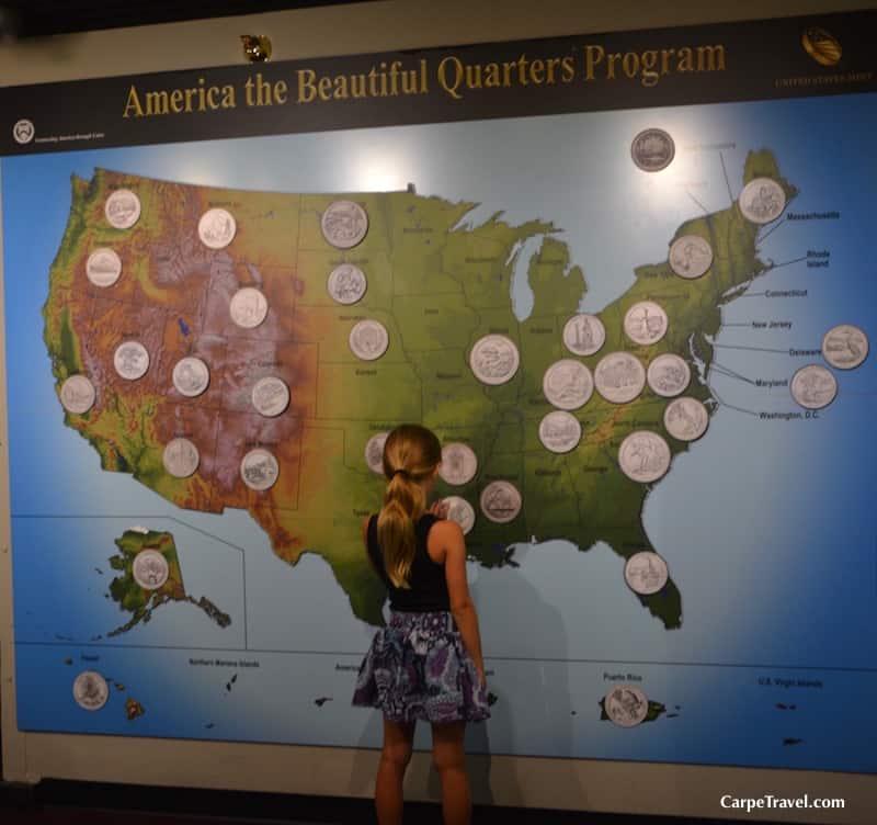 Denver Mint Tours - America the Great Quarter Program