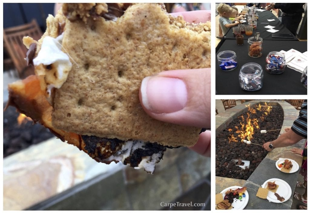 Now, I've been to my share of s'more's bars, but my friend, the s'mores bar at Cheyenne Mountain Resort tops them all. Think every and any kind of candy, spread and even bacon laid out nicely for you to prepare the perfect s'more. I truly had a life changing experience…who knew bacon would ever be so grand on a s'more. I can truly say that bacon does make everything better. Click over for Carpe Travel's full review of Cheyenne Mountain Resort in Colorado Springs.