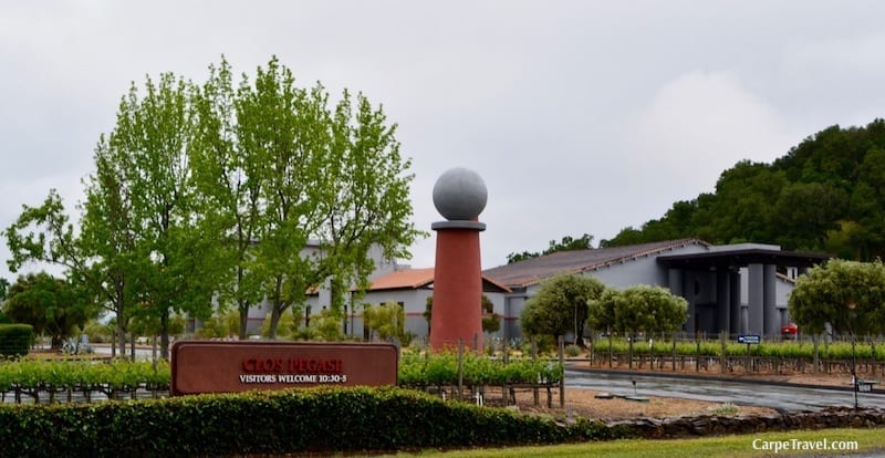 It was love at first sip… Interview with Robin Akhurst, the winemaker at Clos Pegase Winery in Napa Valley.