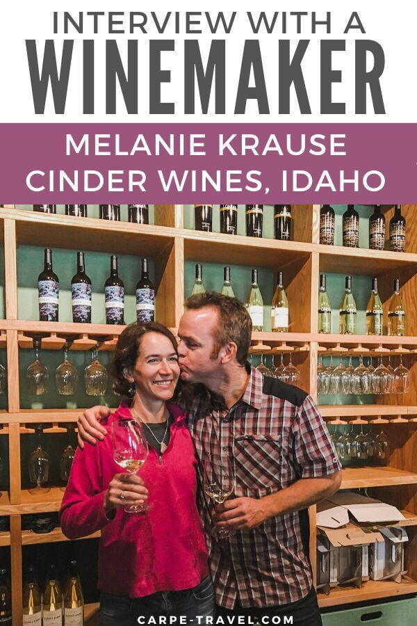 Women like Melanie Krause at Cinder Wines are changing the perception of the Idaho wine region by creating amazing wines. Carpe Travel shares more on how she's doing it.