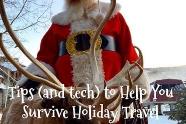 Tips (and tech) to Help You Survive Holiday Travel