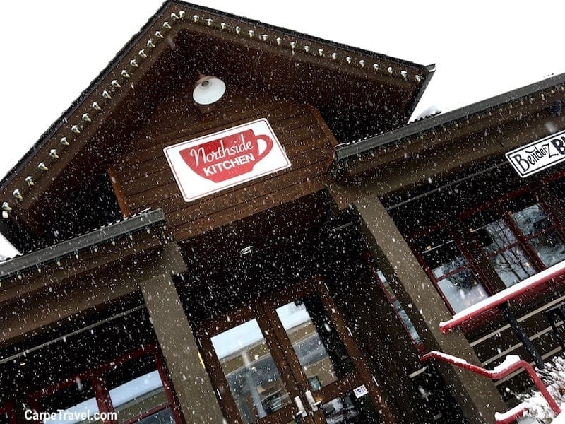 Family Ski Trip Tips to Save Money Skiing: Want to eat out? Then do it! But avoid eating at the ski resort since pricing is much higher than local restaurants. Head into town to one of the local hot spots, and dig into some delicious food - not your wallet. Click over to Carpe Travel for 30 more tips on help you save money on your family ski trip.