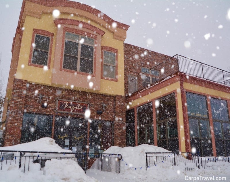 Where to eat in Frisco? Bagnalis is one of the top restaurants in Frisco. For more Frisco restaurant recommendations, click over to Carpe Travel's travel guide for Frisco, Colorado.