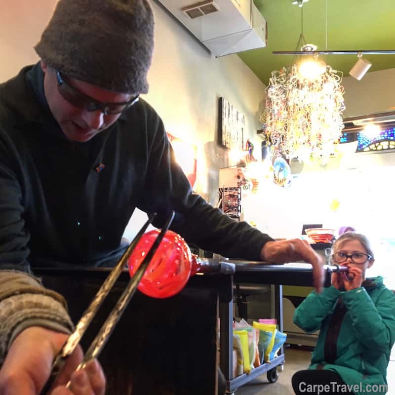 Things to do in Frisco, Colorado: Learn to Blow Glass at Gatherhouse
