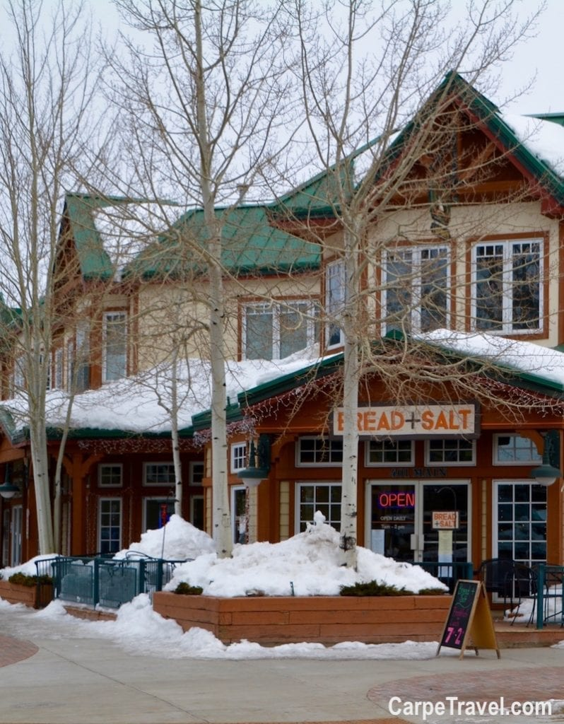 Where to eat in Frisco? Bread + Salt is one of the top restaurants in Frisco. For more Frisco restaurant recommendations, click over to Carpe Travel's travel guide for Frisco, Colorado.