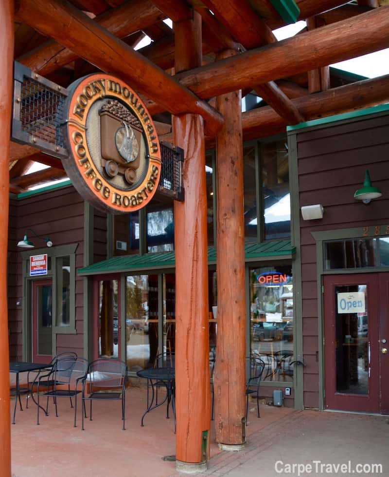 Where to eat in Frisco? Rocky Mountain Coffee Roasters is one of the top restaurants in Frisco. For more Frisco restaurant recommendations, click over to Carpe Travel's travel guide for Frisco, Colorado.