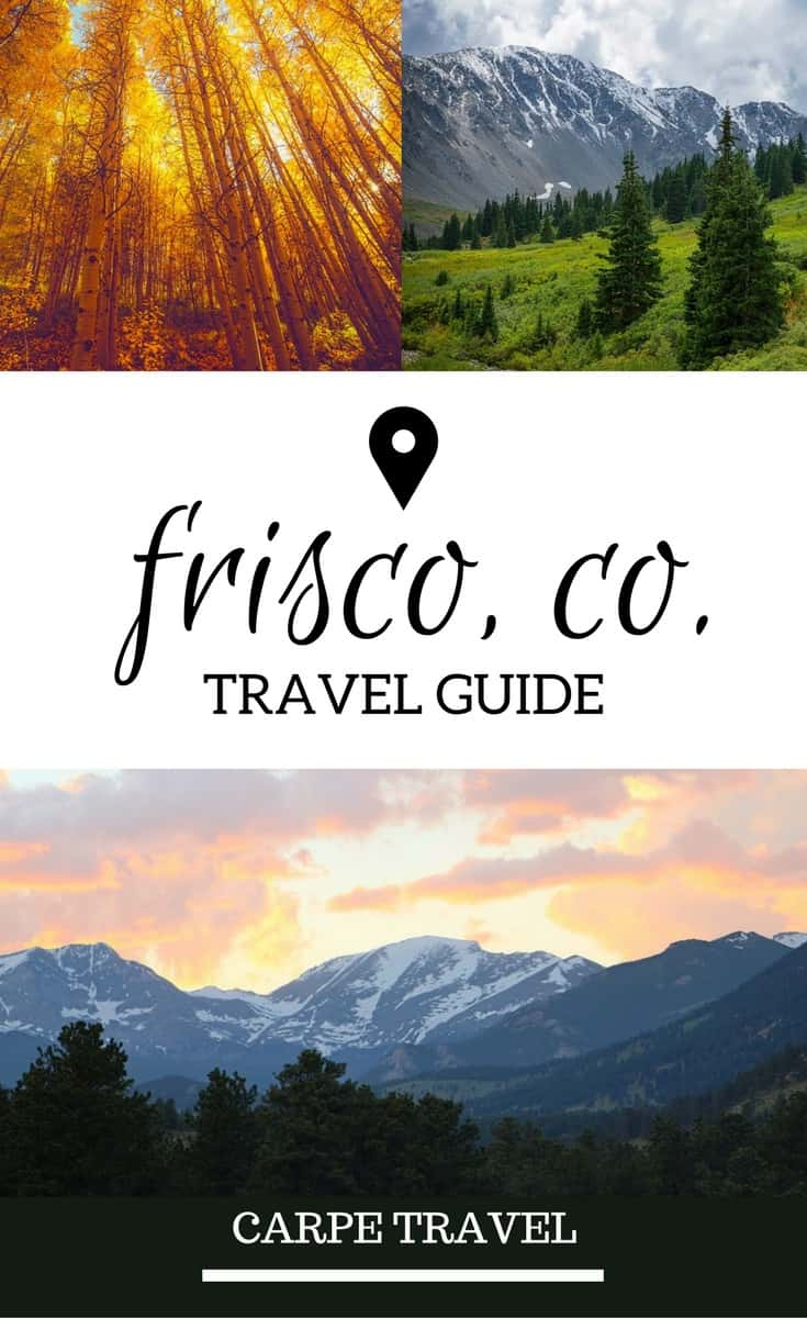 A Guide to things to do in Frisco, Colorado