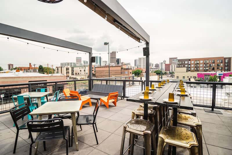 Best Rooftop Bars In Denver: Los Chingones. Click Over For The Full List Of