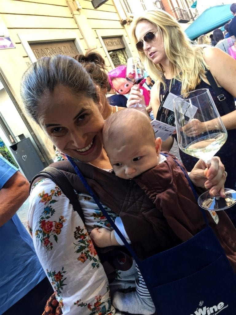 7 Tips for International Travel with an Infant. Baby wearing is huge!