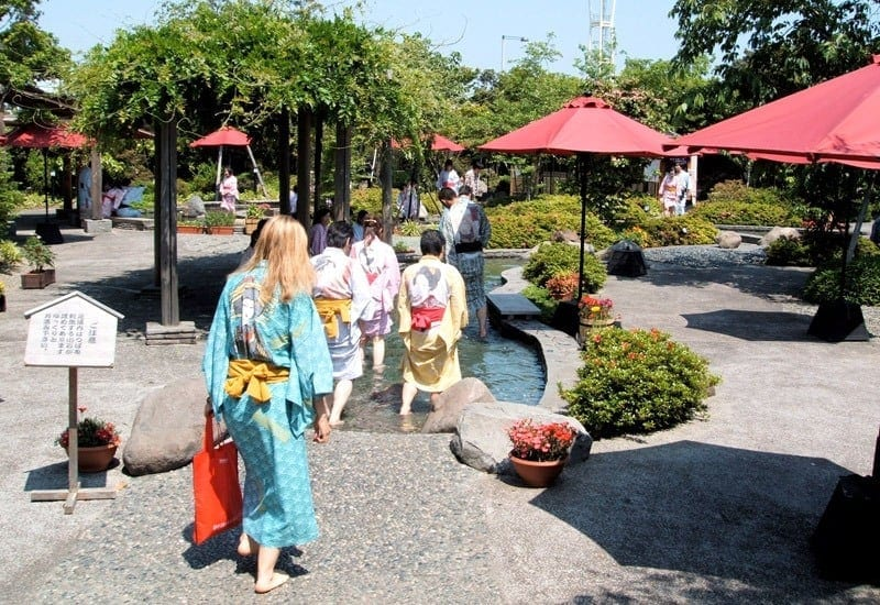 Thermal Springs is one of the Top 8 Things to Do In Tokyo with Kids. Click over over more.