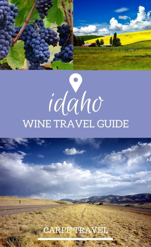 Idaho Wine Travel Guide