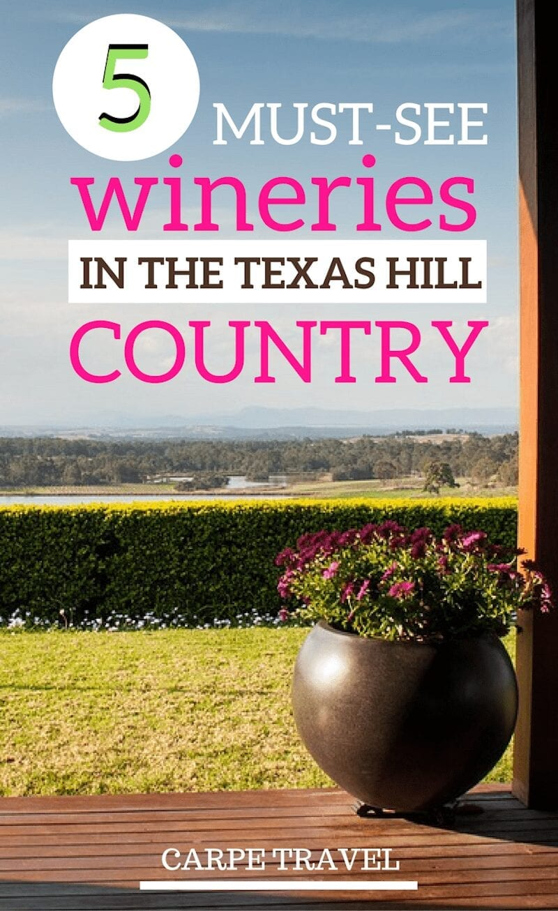 The Texas Hill Country has become top wine destination to visit. Carpe Travel has rounded up the best Texas Hill Country wineries to visit for your getaway.