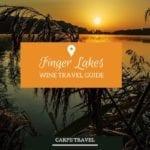 Finger Lakes wine travel guide