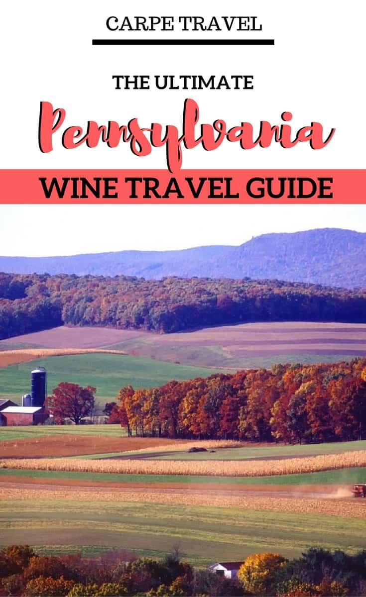 Pennsylvania wine travel guide