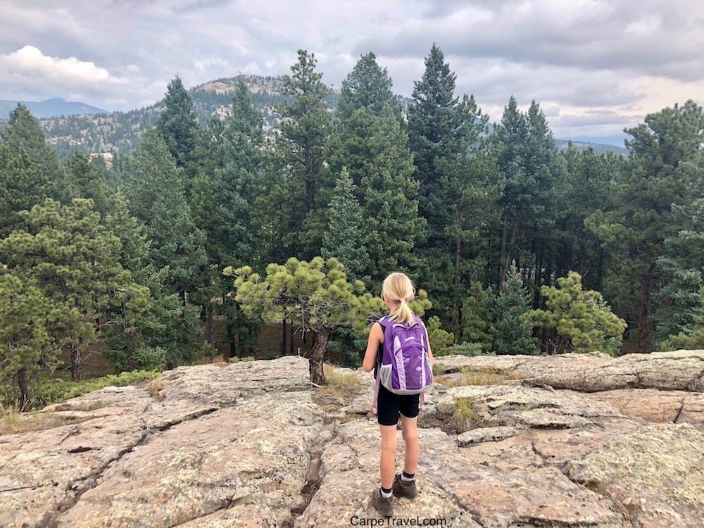 Hiking in Evergreen CO - Alderfer Three Sisters is a great one