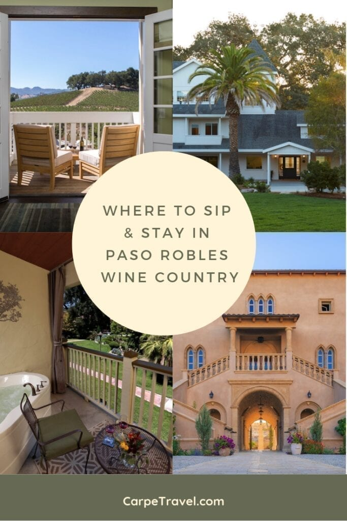 Looking for where to stay and sip in Paso Robles? We've paired the top Paso Robles wine country hotels with not to miss Paso Robles wineries.