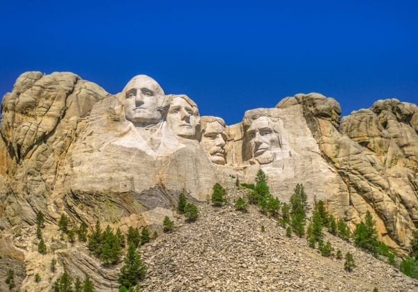 Mount Rushmore National Memorial Of United St