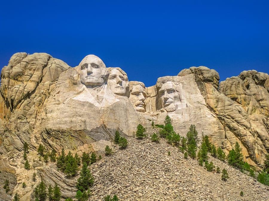 Mount Rushmore National Memorial Of United St