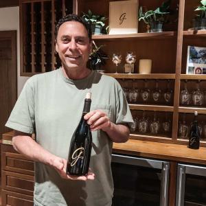 John Falcone, winemaker at Gainey Vineyards