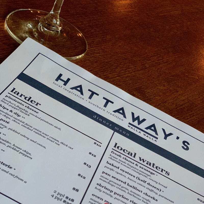 Hattaways on Alder - a Walla Walla restaurant not to miss