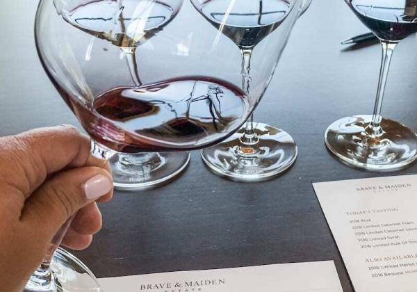 Santa Ynez Valley Wine Country brave and maiden