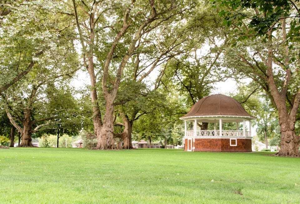 Pioneer Park in Walla Walla, WA