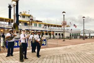 Things to do in New Orleans - chug along on a steamboat
