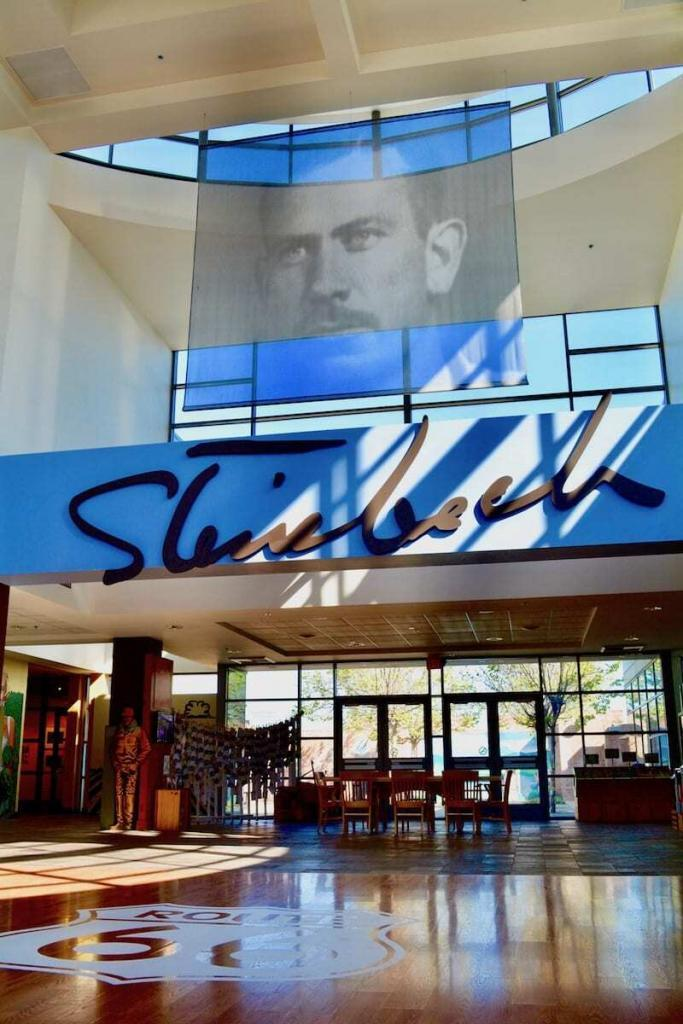 Steinbeck Museum in Monterey Wine Country