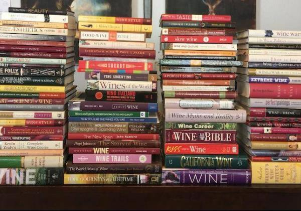 Books. They're one of five type of wine education we outline in this article.