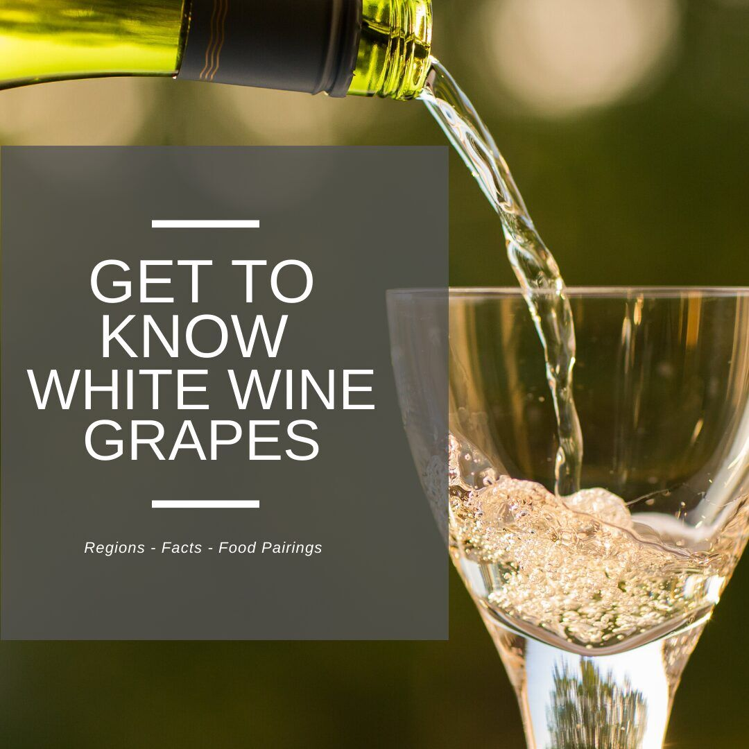 get to know white wine grapes