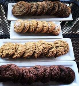 The Bakers Table in Santa Ynez Valley, chocolate espresso cookie recipe