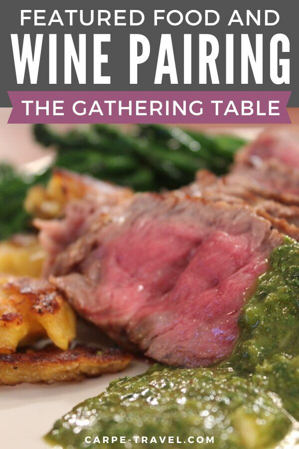If you can't travel to the Santa Ynez Valley wine country, you can still explore through food and wine pairings. The Gathering Table has shared its Grilled Rib Eye Steaks with Chimichurri Sauce to help you explore through your palate.