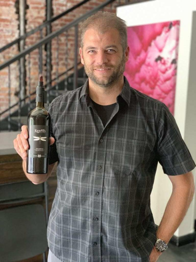 Chris Kontos started his winery as part of the wine incubator program in the Walla Walla Airport District