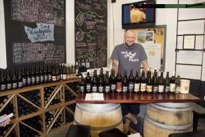Brad Binko, winemaker at Eternal Wines in Walla Walla
