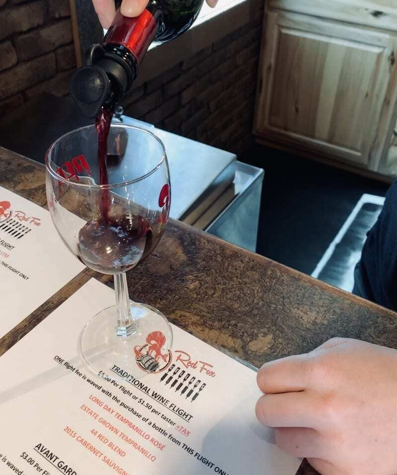 Red Fox is one of the best Palisade wineries to sip in Colorado wine country.