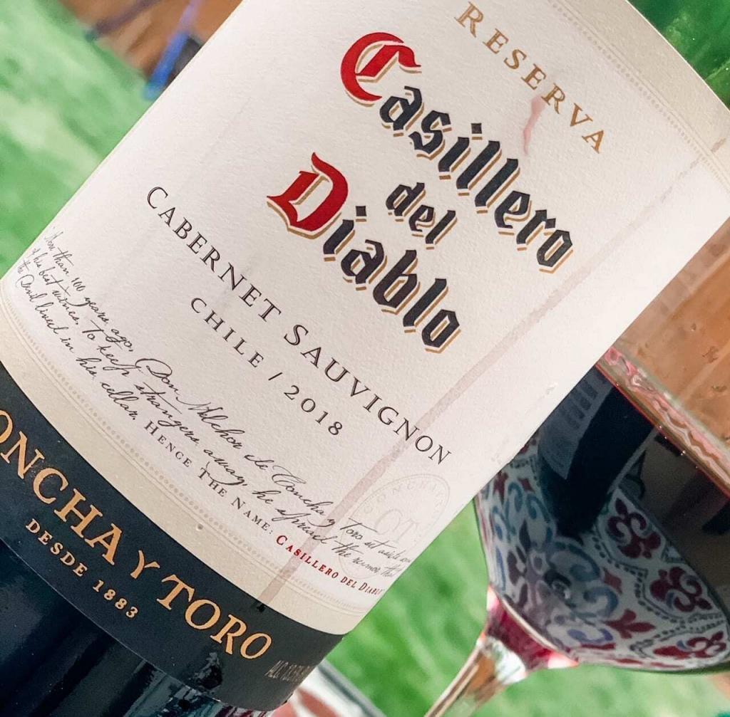Chilean Wine Casillero del Diablo
