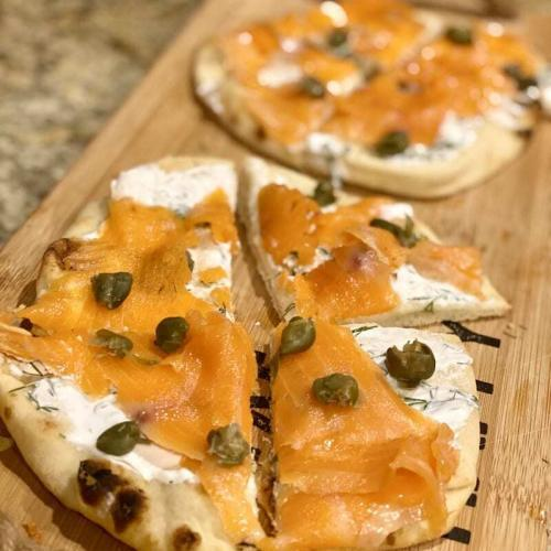 Smoked Salmon Appetizer wine pairing