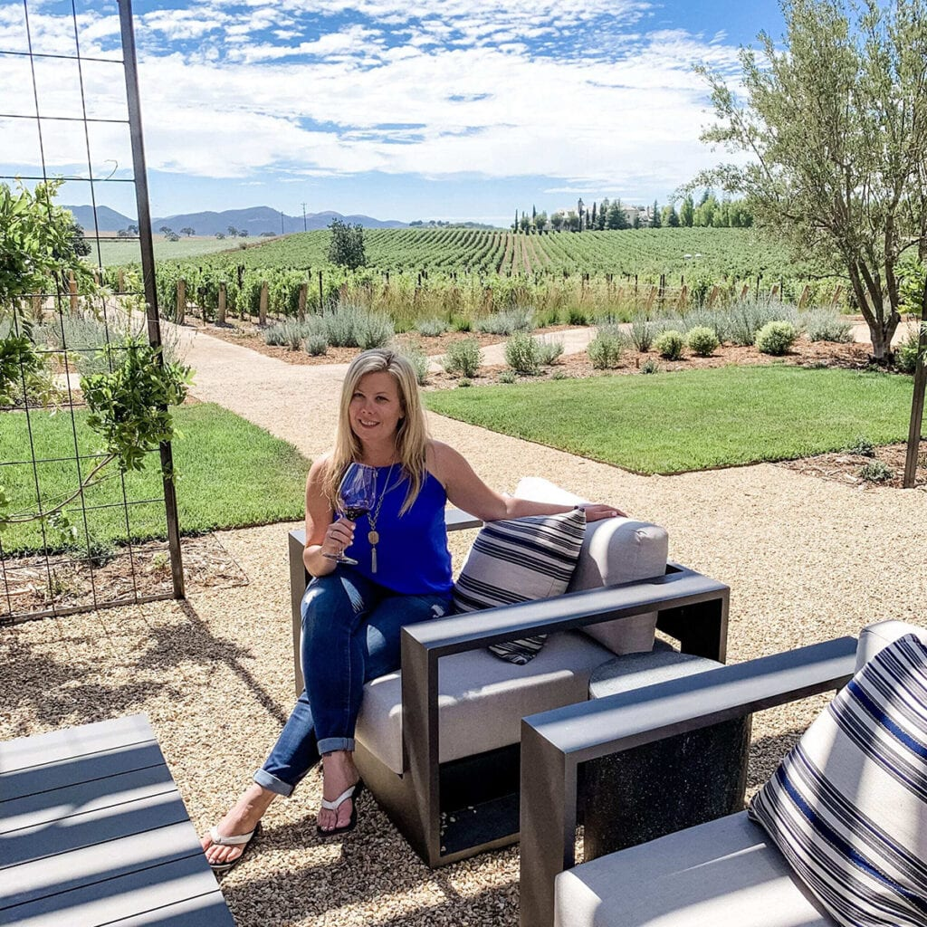Wine Tasting in Santa Ynez Valley at Brave and Madien