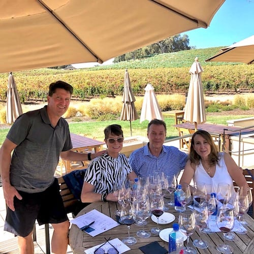 Wine tasting during Covid in Paso Robles