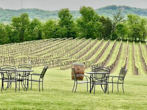 Noboleis Vineyards - One of the best Missouri Wineries to sip in