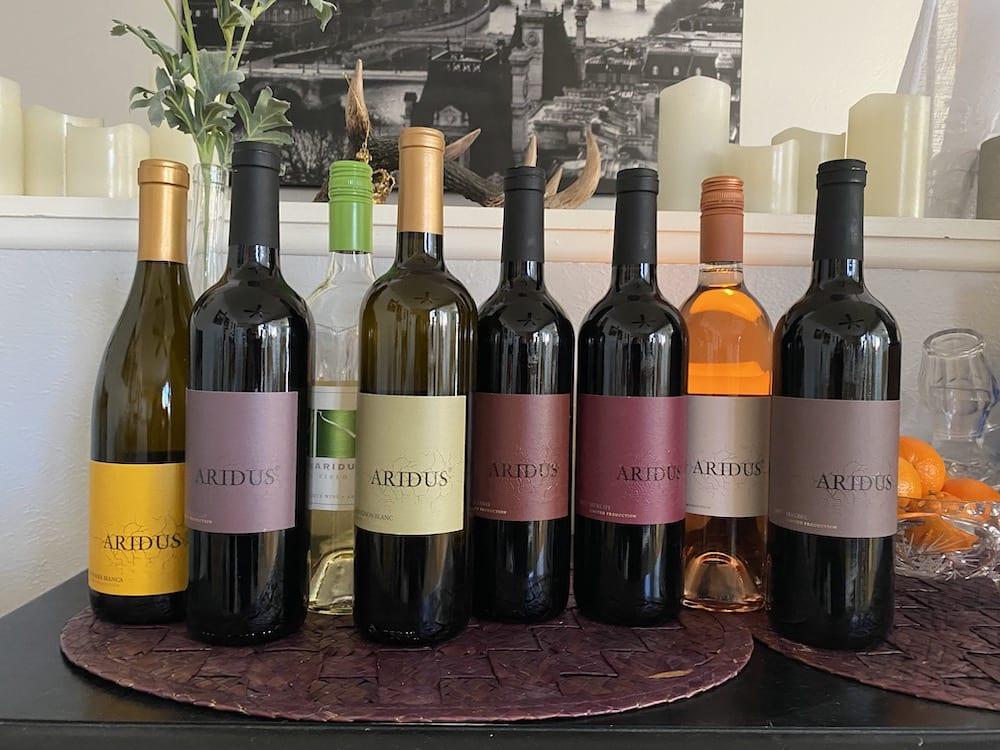Willcox wineries - Aridus