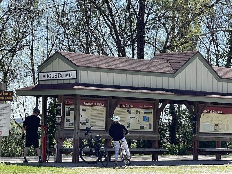 Things to do in Augusta Missouri - Hike, Bike Trailhead