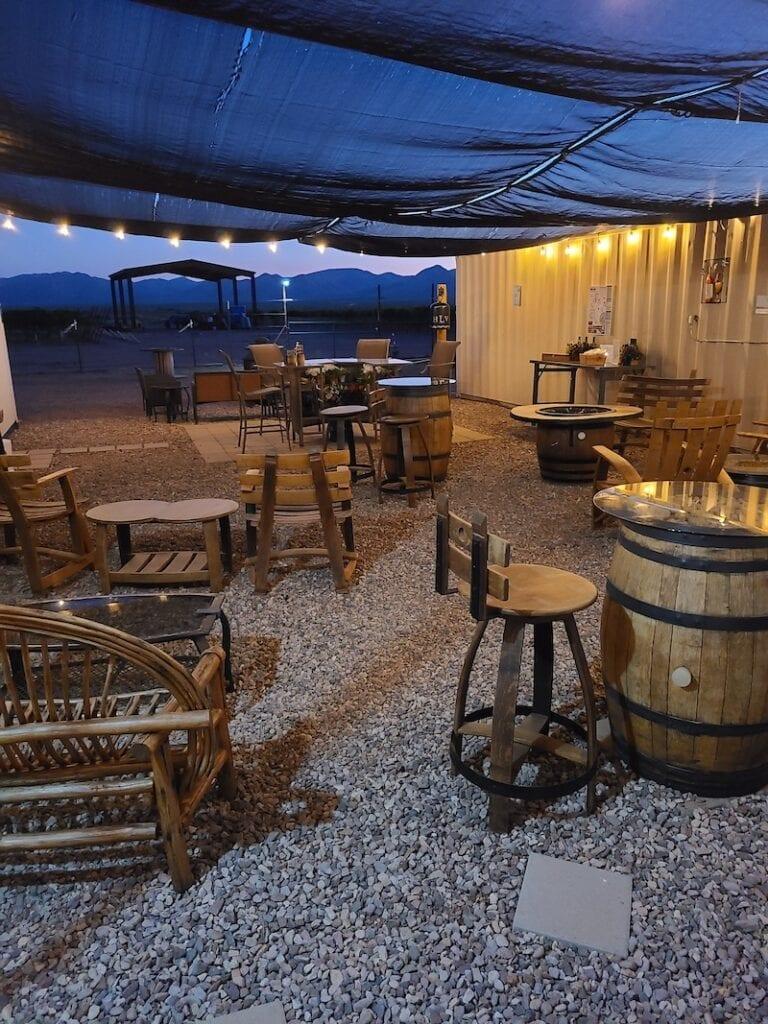 High Lonesome Vineyard in Willcox Arizona