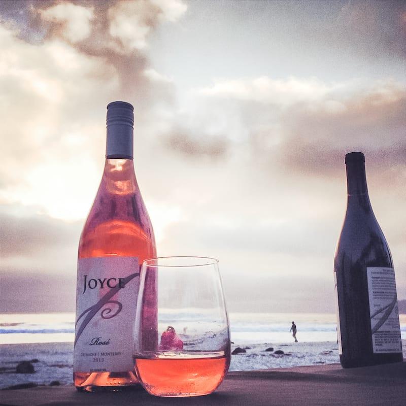 Monterey wineries - Joyce