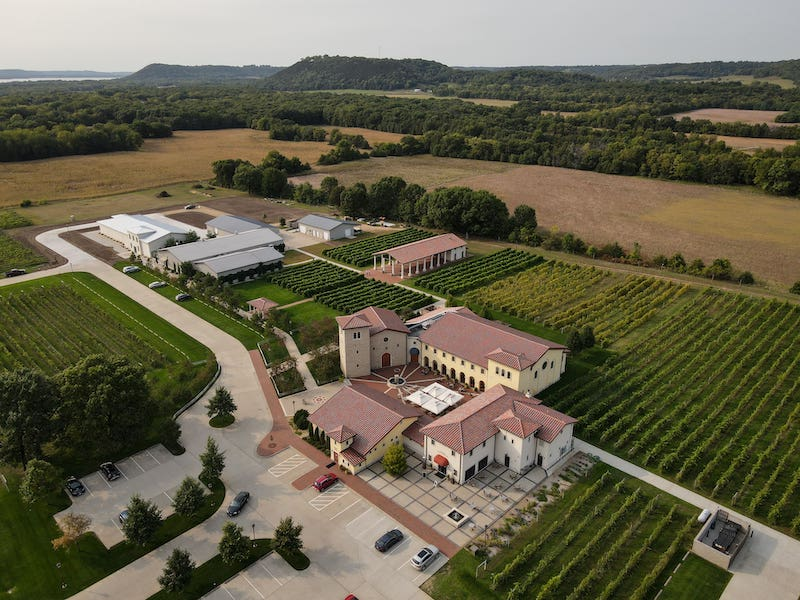 Wisconsin Wineries Not to Miss - Villa Bellezza