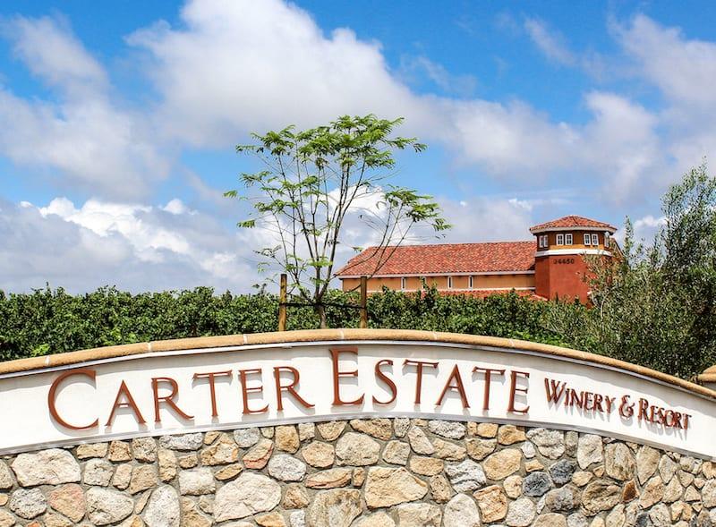 Temecula Wineries - Carter Estate